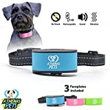 Athenas Pets Dog Bark Collar, Humane Bark Collar Using Beep, Vibration, No Shock