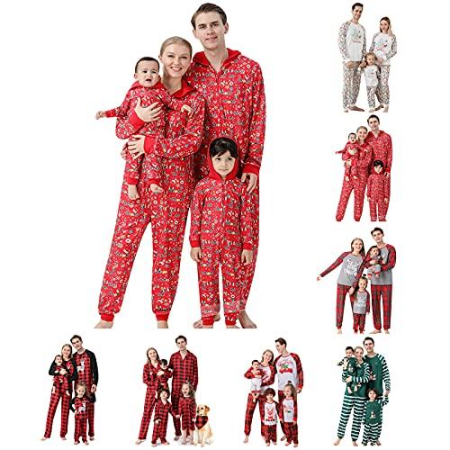 YQSR - Conjunto de pijamas de Navidad para bebé, diseño de Navidad