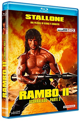 Rambo: Acorralado (Parte II) Blu-ray
