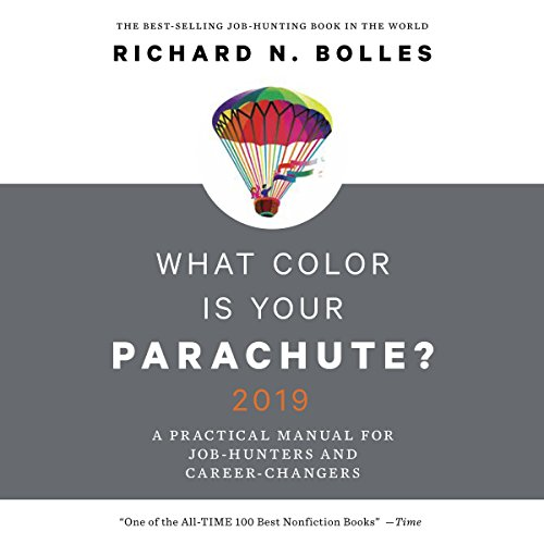 What Color Is Your Parachute? 2019 audiobook cover art
