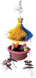Prevue-Hendryx Tropical Teaser Tiki Hut Bird Toy