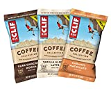 CLIF BARs with 1 Shot of Espresso - Energy Bars - Coffee Collection - Variety Pack - 65 mgs of Caffeine Per Bar (2.4 Ounce Breakfast Snack Bars, 15 Count)