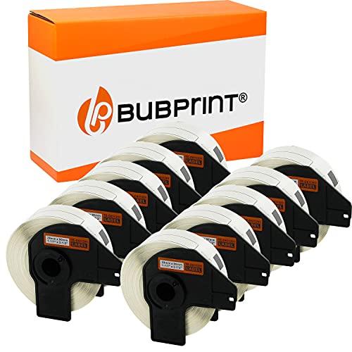 Bubprint Kompatibel Etiketten als Ersatz für Brother DK-11201 DK 11201 für P-Touch QL1050 QL1060N QL500BW QL550 QL560 QL570 QL580N QL700 QL710W QL720NW QL810W 10er-Pack