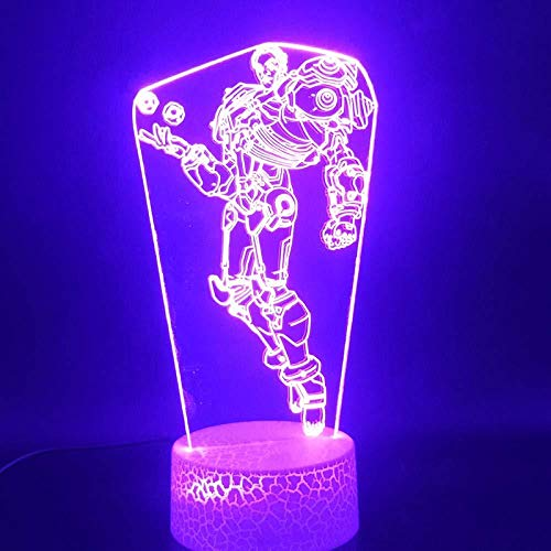 Boutiquespace Lámpara de ilusión 3D LED luz...