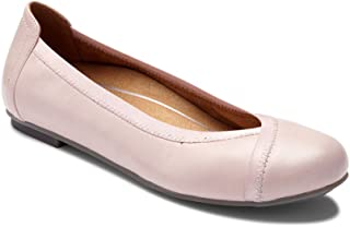 Women's Spark Caroll Ballet Flat - Ladies Dress Casual Shoes with Concealed Orthotic Arch Support