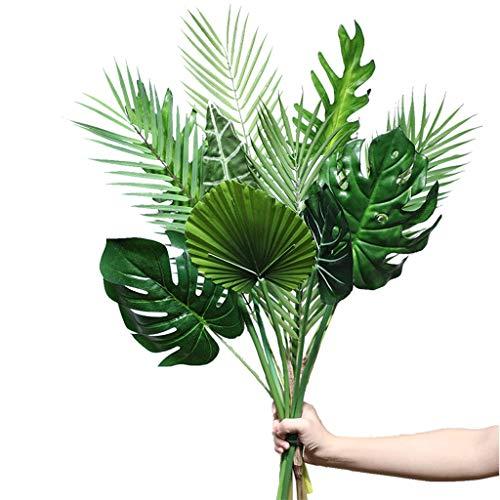 XXT nep bloem grote blad simulatie plant banaan blad Guanyin Lotus Monstera blad grote decoratie interieur