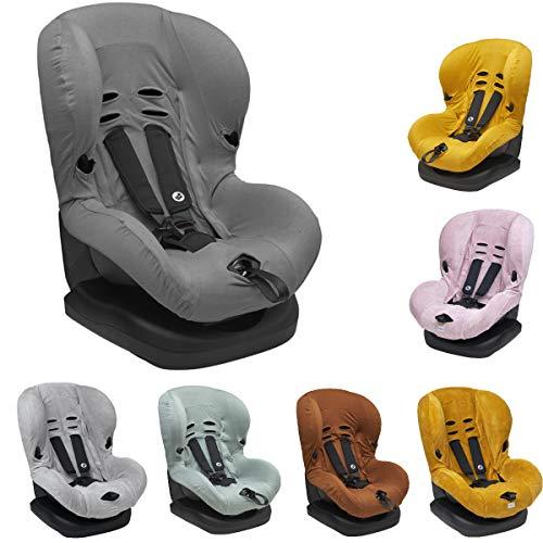 Meyco Baby VELVET/BASE ** Funda universal suave y acogedora ** 100% algodón transpirable ** Sistema de cinturón de 3 y 5 puntos ** Tamaño 1 por ejemplo para Maxi Cosi
