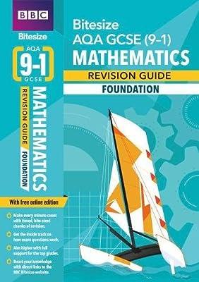 BBC Bitesize AQA GCSE (9-1) Maths Foundation Revision Guide (BBC Bitesize GCSE 2017) by BBC Active