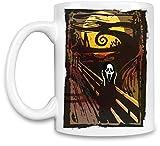 Scream Taza para café