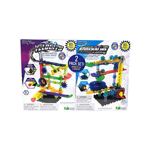 【costco コストコ】【TECHNO GEARS テクノギアー】MARBLE MANIA しかけおもちゃ テクノギアー 2パック ピタゴラスイッチ 知育玩具