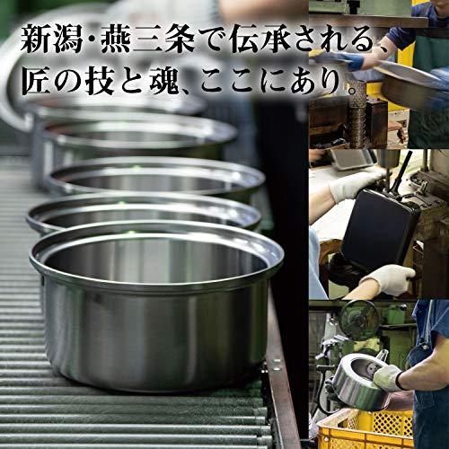 和平フレイズ燕三条職人仕事が生み出すこだわりの道具取っ手が取れる鍋2点セット18cm20cmIH対応日本製匠弥(たくみや)TY-022