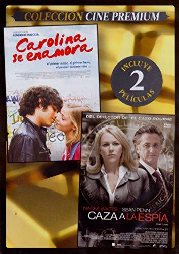 Carolina Se Enamora (Amore 14) + Caza A La Espía (Fair Game) (Estuche Slim) [DVD]