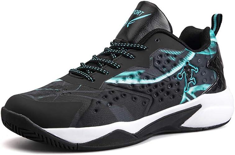 YUL Chaussures de basket-ball pour hommes Chaussures de travail décontractées pour hommes et femmes Chaussures de course légères