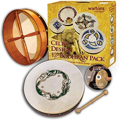 Waltons Popular shop is Max 50% OFF the lowest price challenge 12'' Bodhran - Chase Irish Instru Handcrafted Design