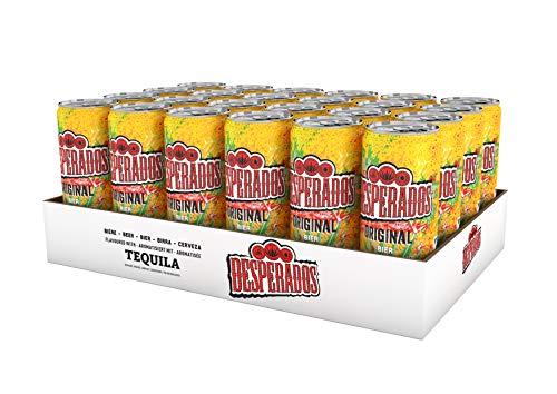 Desperados Tequila Flavoured Bier Dose, EINWEG (24 x 0.25 l)