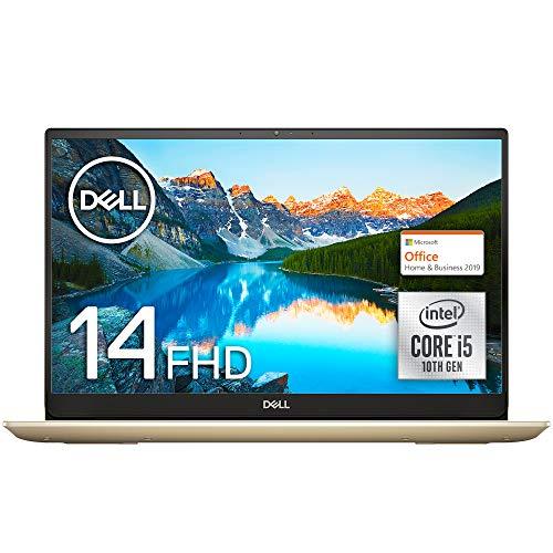 Dell ノートパソコン Inspiron 14 5490 Core i5 Office アイスゴールド 20Q31IGHB/Win10/14.0FHD/8GB/256GB...