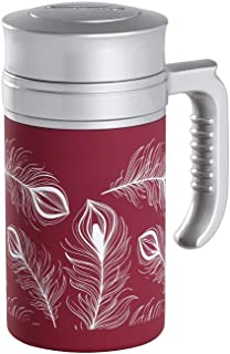 TEA SHOP - Termo con Filtro - Travel Tea Turkey Burgundy - 350ml - Otros complementos