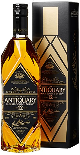 The Antiquary 12 Years Old mit Geschenkverpackung Whisky (1 x 0.7 l)