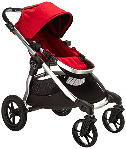 Baby Jogger City Select Stroller - 2016 | Baby Stroller with 16 Ways to Ride, Goes from Single to Double Stroller | Quick Fold Stroller, Ruby