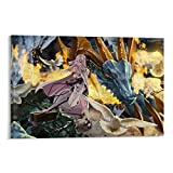 IFUNEW Drakengard Mikhail and Zero Poster Decorative Painting Canvas Wall Art Living Room Posters Bedroom Painting 20x30inch(50x75cm)