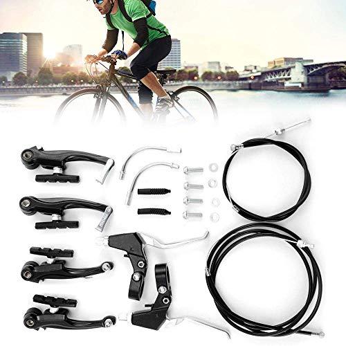 Juego de frenos en V, Herramientas para el Freno, aleación de Aluminio Delantera y Trasera Juego de Frenos de Bicicleta V para Bicicleta de montaña, Equipamiento Profesional de Freno de Bicicleta