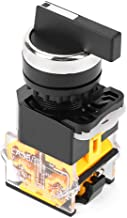 Momentary Rotary Switch, Akozon 22mm 3 Position Auto Reset Selector Momentary Rotary Switch Long Handle LA38-20BX33