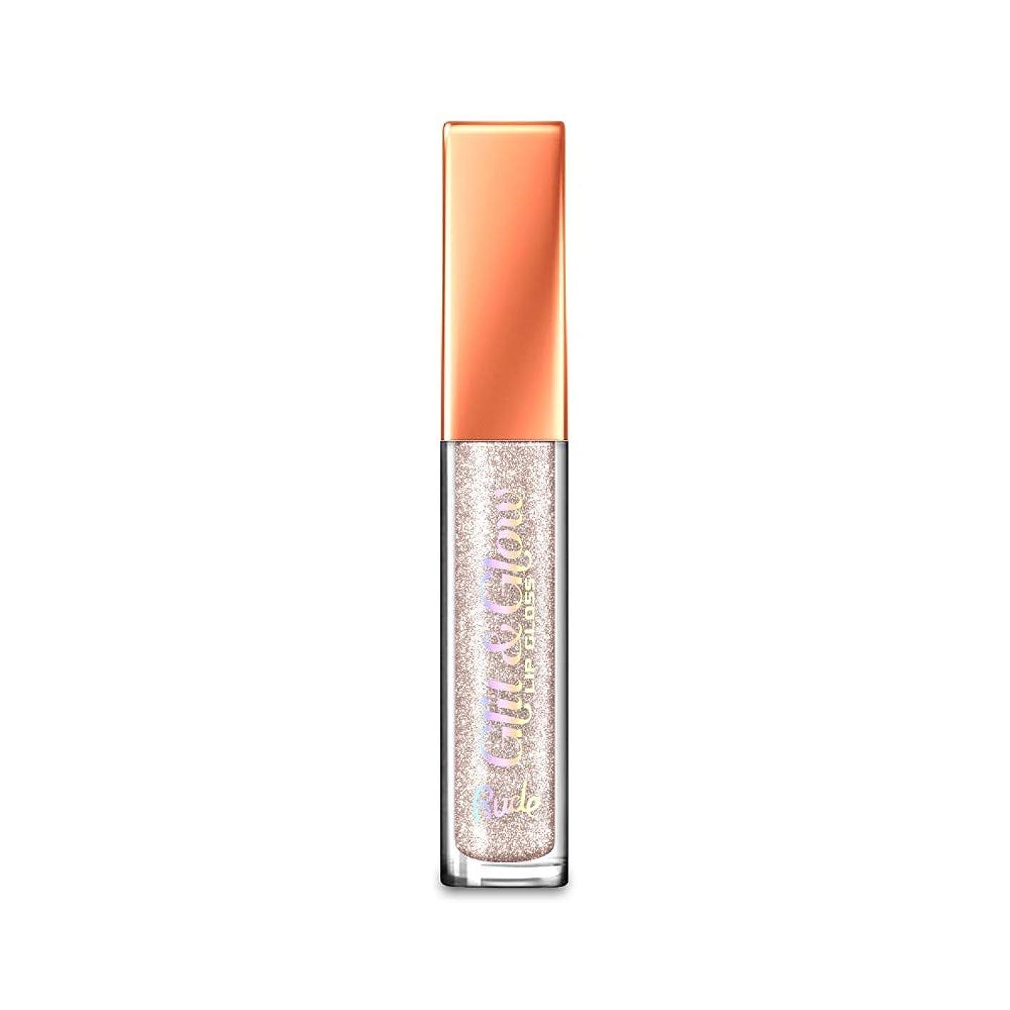 持続的悲しいことに再発する(3 Pack) RUDE Glit & Glow Lip Gloss - Feeling Naughty (並行輸入品)
