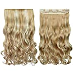 Beauty Shopping REECHO 14″ Short 1-pack 3/4 Full Head Curly Wave Clips