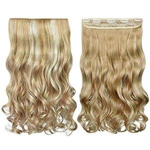 Beauty Shopping REECHO 14″ Short Length 1-Pack 3/4 Full Head Curly Wavy