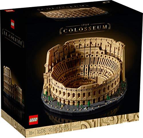 LEGO 10276 Creator Expert Colosseum The Collosseum - 9036 piezas - Modelo más grande de todos los tiempos.