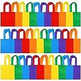 Elcoho 30 Pieces Non-Woven Party Bags Reusable...