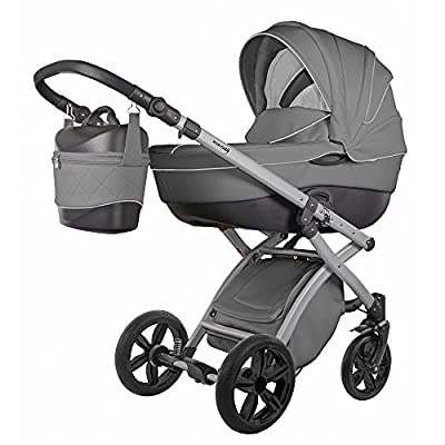 knorr-baby Cochecito de bebé combi Alive Pure gris