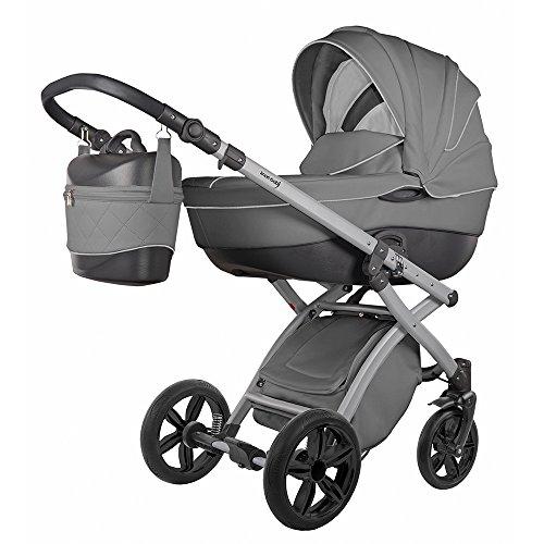 knorr-baby 2580-6 Kombi Kinderwagen Alive Pure, grau
