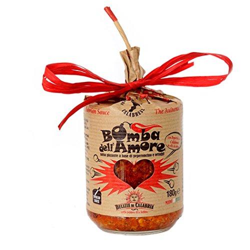 Bomba d'Amore - salsa piccante a base di peperoncino e ortaggi 180gr