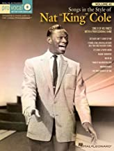"""Songs in the Style of Nat """"King"""" Cole (Pro Vocal Men's Edition)"""