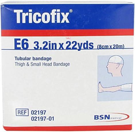 BSN Medical 02197 Tricofix Tubular Bandage 22 x Easy-to-use Manufacturer regenerated product E6 Yds 3.2