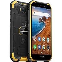"Ulefone Armor X6 Teléfono Moviles Resistentes, Android 9.0 5.0 ""IP68 Impermeable Móvil Antigolpes Todoterreno, Dual SIM, 2GB + 16GB, 5MP+8MP, 4000mAh Batería, Desbloqueo Facial GPS Naranja"