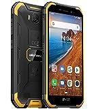 Ulefone Armor X6 Outdoor Smartphone ohne Vertrag Günstig, IP68 Robustes Handy, Android 9.0, 4000mAh Akku, Quad-Core 2GB + 16GB, 5 Zoll HD, 5 MP + 8 MP, DUAL SIM GPS Gesichts Entsperrung Orange