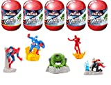 Marvel Avengers Assemble Spiderman Capsule Surprise Toy...