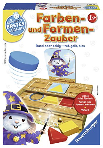 """Ravensburger Spielen und Lernen 24723 - """"Farben- und Formen-Zauber""""  – Lernspiel für Kinder ab 1 1/2 Jahren"""