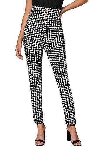 Fashion Shopping SweatyRocks Women's Casual Skinny Leggings Stretchy High Waisted Work Pants