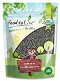 Organic Black Cumin Seeds, 4 Ounces - Non-GMO, Whole Nigella Sativa, Kosher, Raw Vegan Superfood, Bulk Black Caraway, Great for Cooking, Spicing, and Seasoning.