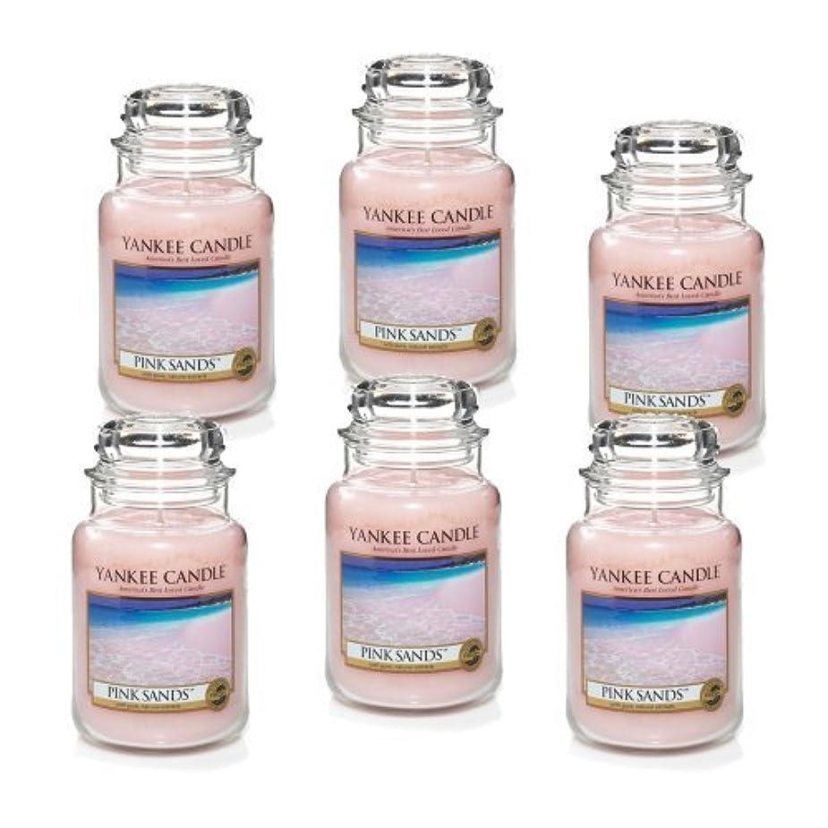 マージン防衛バーガーYankee Candle Company 22-Ounce Pink Sands Jar Candle, Large, Set of 6 by Amazon source [並行輸入品]