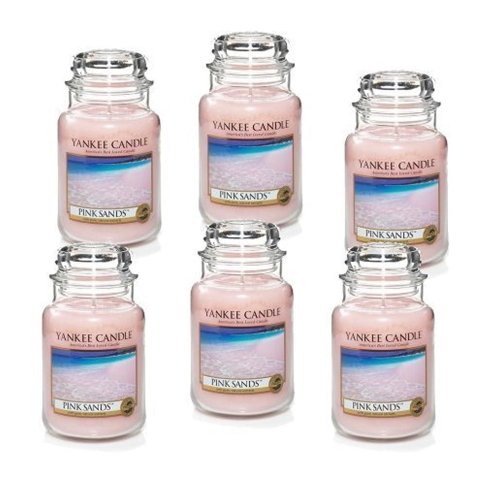 露骨な仕出します品揃えYankee Candle Company 22-Ounce Pink Sands Jar Candle, Large, Set of 6 by Amazon source [並行輸入品]