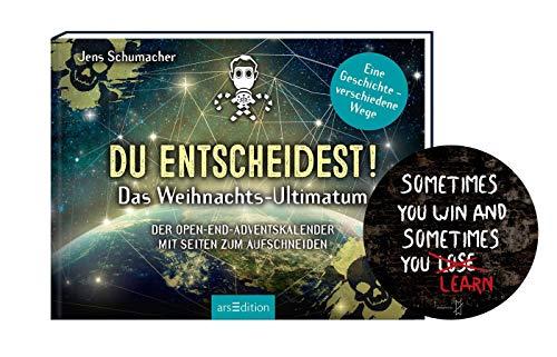 Collectix Du entscheidest! Das Weihnachts-Ultimatum. Das Original: Der Open-end-Adventskalender + Sometimes You Win.. - Exit-Sticker