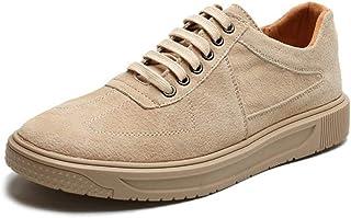 Chaussures confortables Classique Sneaker for Mode Hommes Chaussures de skate Chaussez en cuir véritable Semelle en caoutc...