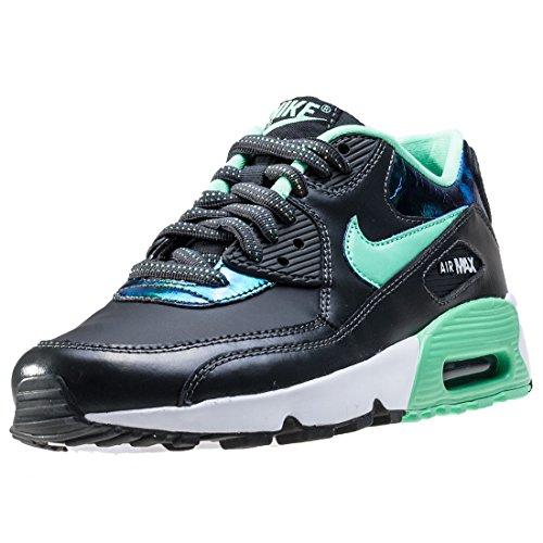 Nike Nike Damen 859633-001 Fitnessschuhe, Grau (Anthracite/Green Glow-Pure Platinum), 36 EU