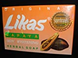 Likas Papaya Soap 135g Pack of 3