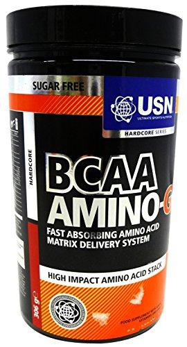 BCAA Amino-Gro, aminozuur-energie - 306 gram door USN M