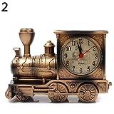 Ogquaton Reloj | Dibujos Animados Locomotora Tren Despertador Antiguo Motor diseño...